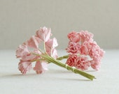 10mm Baby Pink Gypsophila - 20pcs - mulberry paper flowers with wire stems [123]