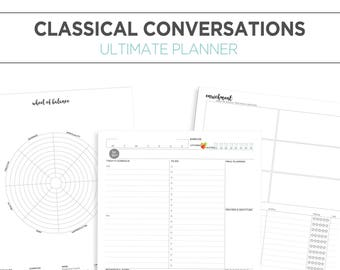 Ultimate Classical Conversations Planner