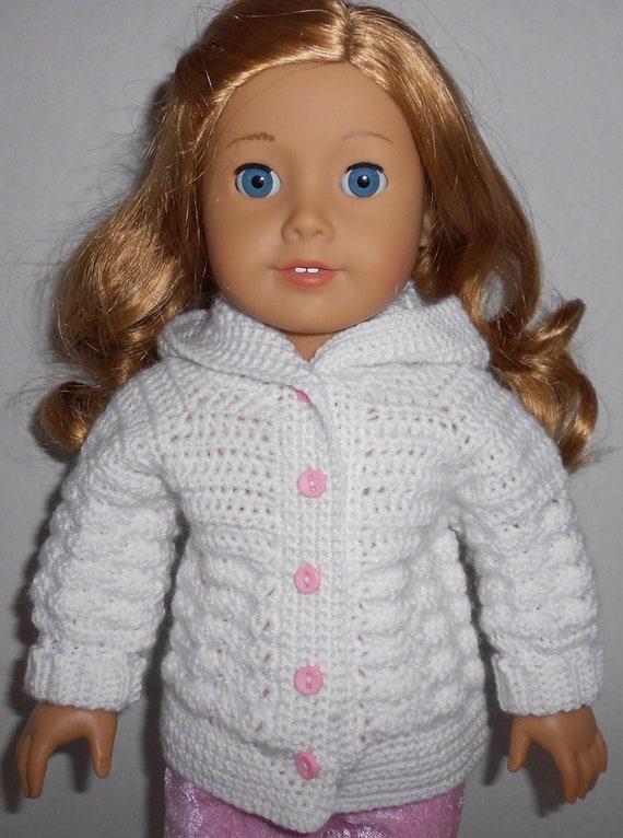 CROCHET patrones PDF suéter con capucha de puntada para