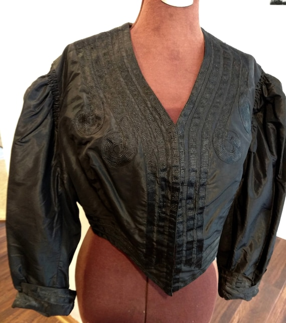 Victorian Mourning Jacket