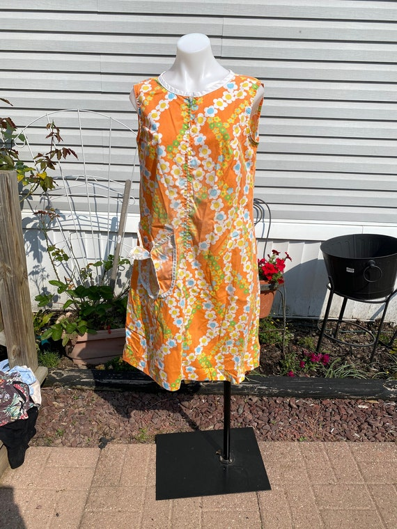 True Vintage Dress Flower Power Sack dress