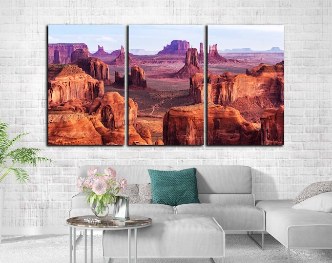 monument valley art, monument valley print, monument valley wall art, monument valley canvas print, Arizona landscape, Arizona wall art,