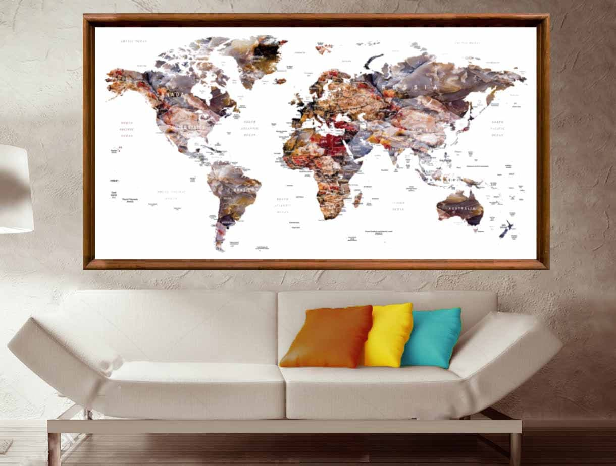 World map posterworld map wall posterworld map canvas printlarge world map posterworld map wall posterworld map canvas printlarge world maptravel map posterpush pin world map push pin map postermap gumiabroncs Images