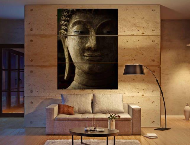 Buddha Wall Art 3 Canvas PanelsBuddha ArtBuddha Wall Art | Etsy