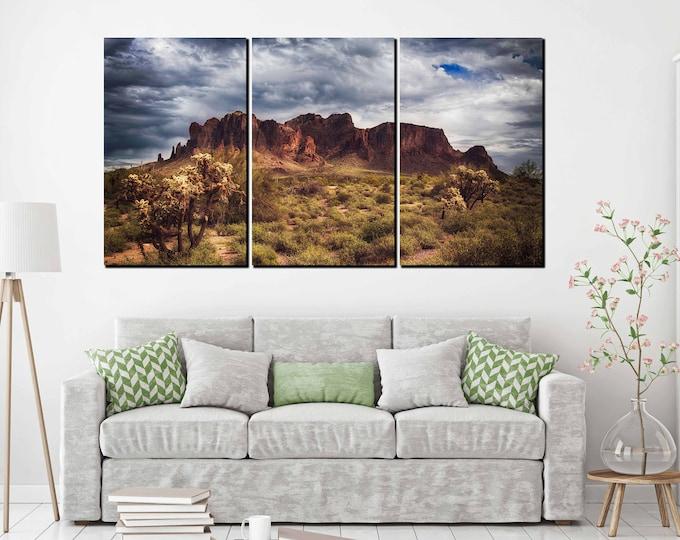 Superstation mountains art print, superstation mountains, superstations mountains Arizona art, mountains art, Arizona art, Desert art