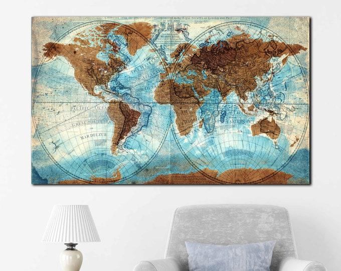 world map large, detailed vintage world map, world map canvas large art, world map wall art, world map canvas world map art, world map print