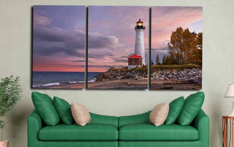 light house canvas art light house wall art large light house print