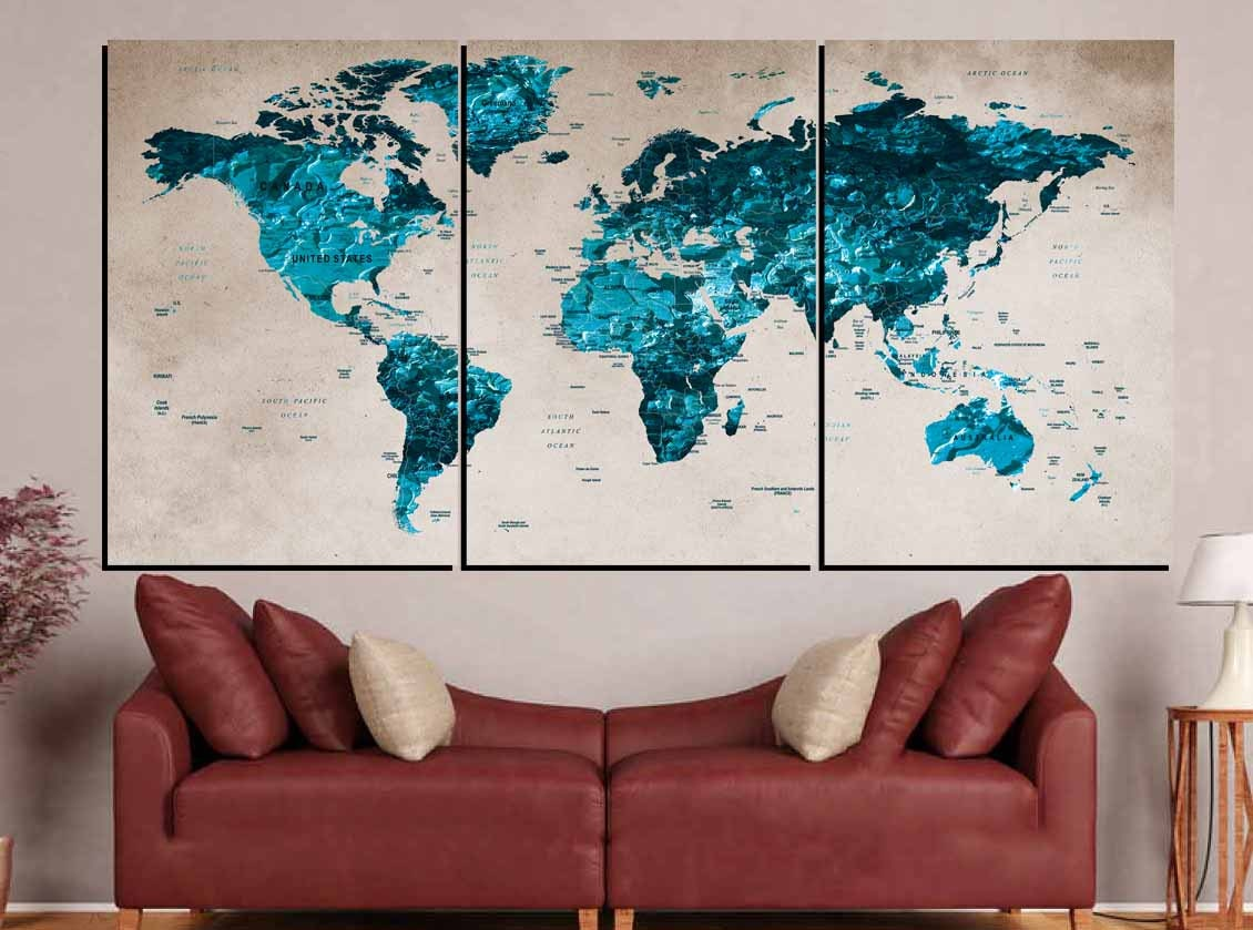 World map blueworld map wall artlarge world mapworld map canvas world map blueworld map wall artlarge world mapworld map canvas artworld map push pinworld map printworld map decalworld map abstract gumiabroncs Choice Image