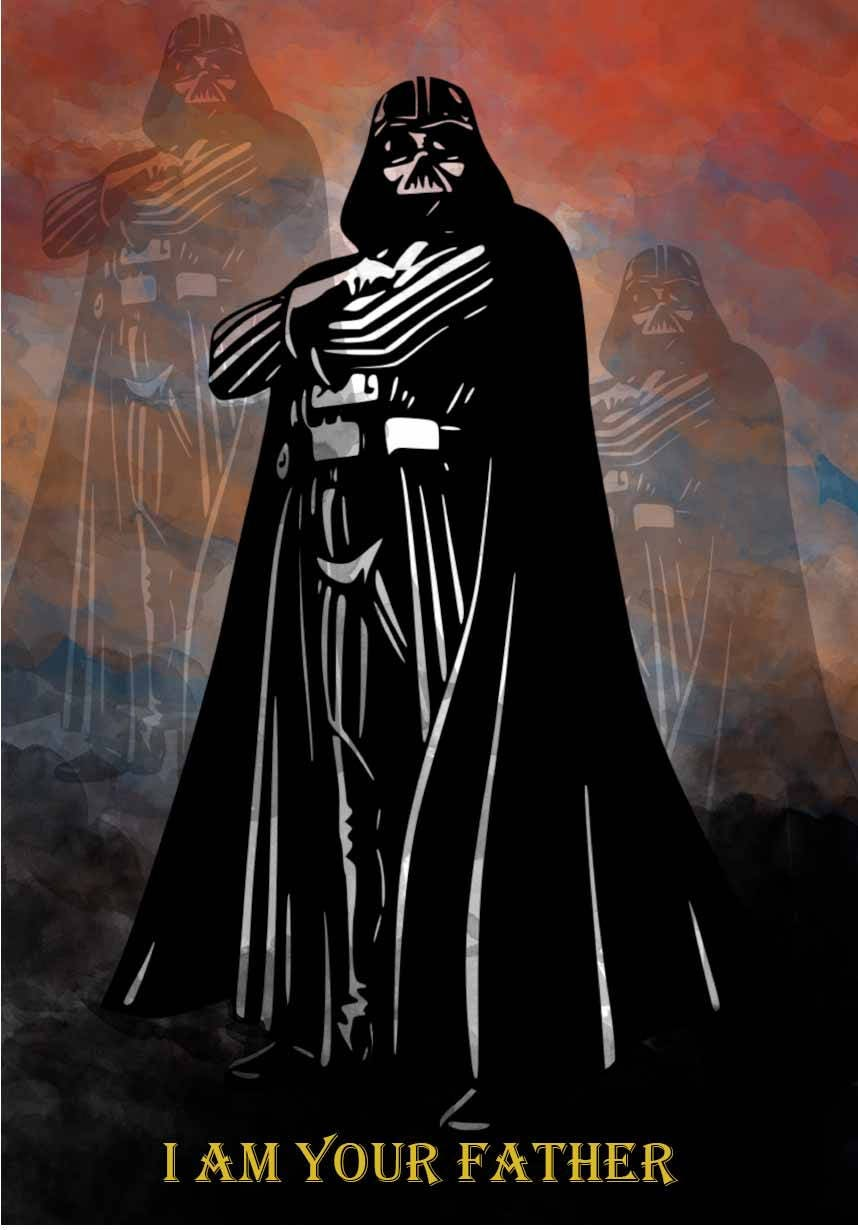 Star Wars Darth Vader Movie Still Giant Wall Art Poster Print