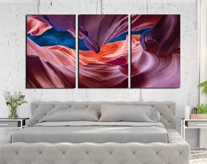 Antelope canyon, antelope canyon wall art, antelope canyon art print, antelope canyon large canvas print, antelope canyon photo print