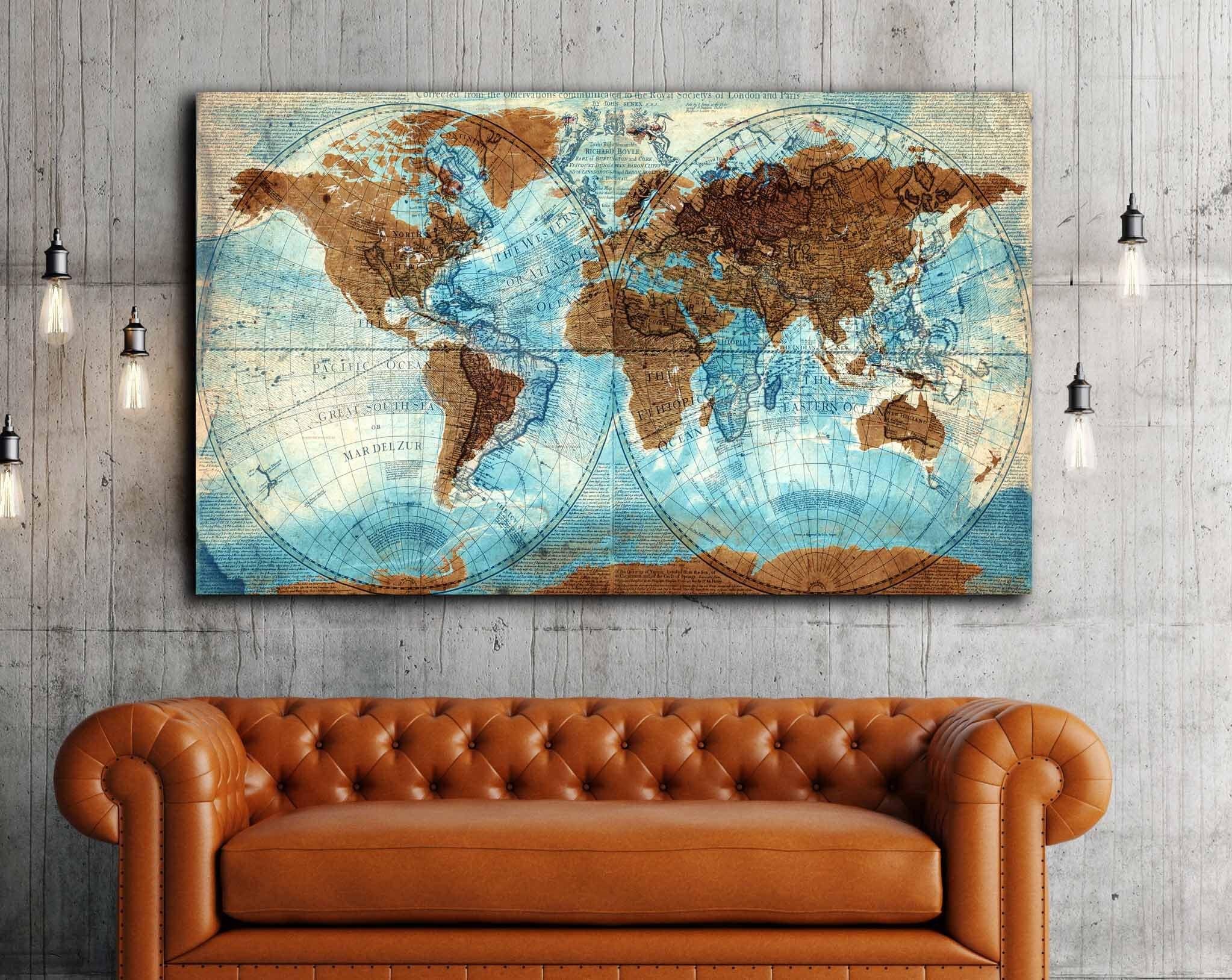 Vintage world map mixed with new world very detailed vintage world vintage world map mixed with new world very detailed vintage world map world map wall art world map canvas world map art world map print publicscrutiny Choice Image
