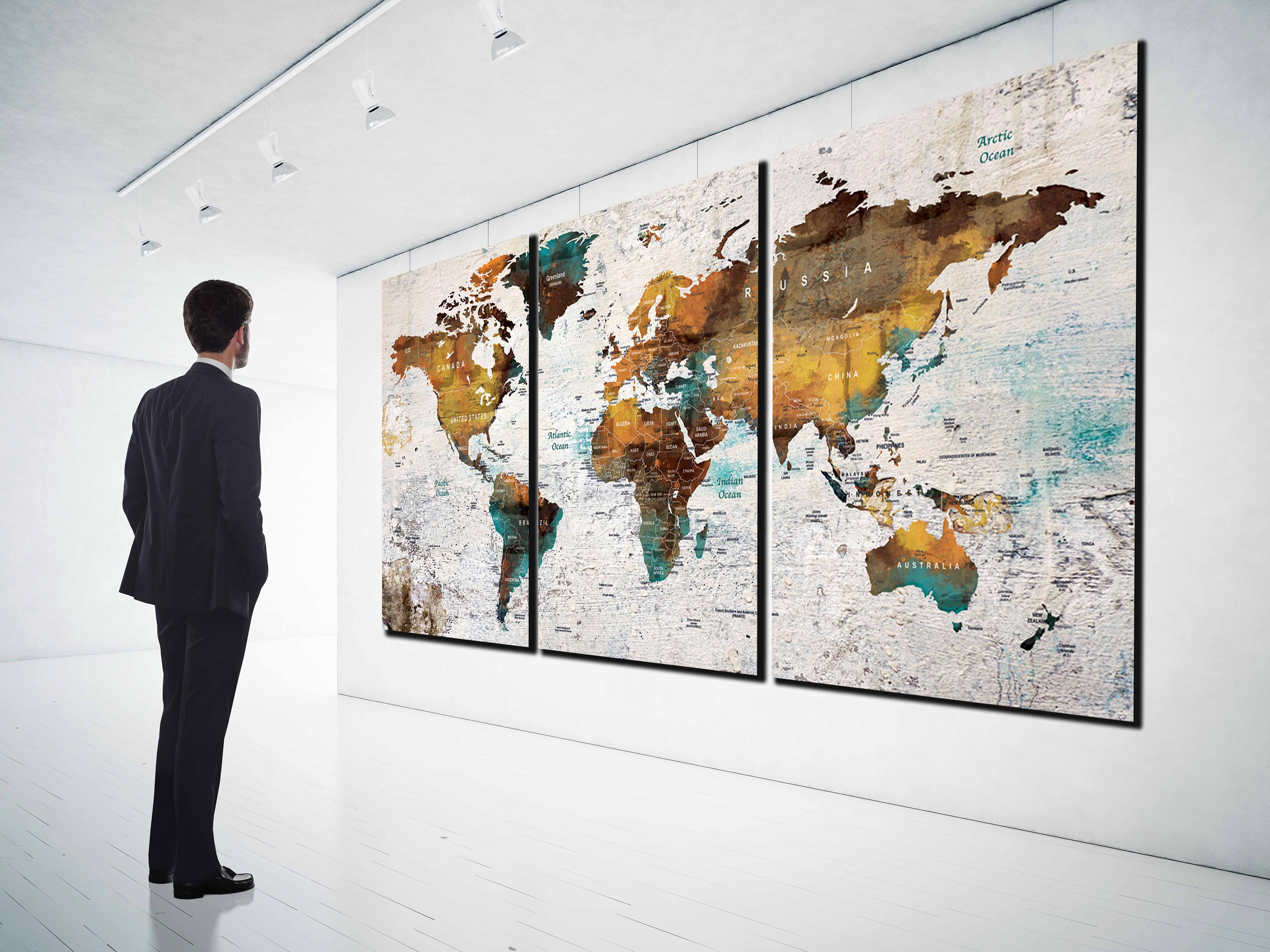 Amazoncom gb eye world map poster posters prints 1863 world map world map push pin canvas printlarge world map world map canvas world map prints for gumiabroncs Image collections