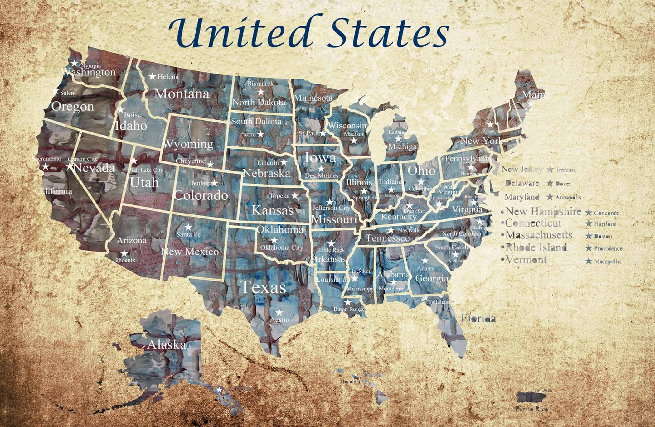 Full Map Of America.Push Pin Usa Map Usa Pushpin Large Pushpin Map Us Map America