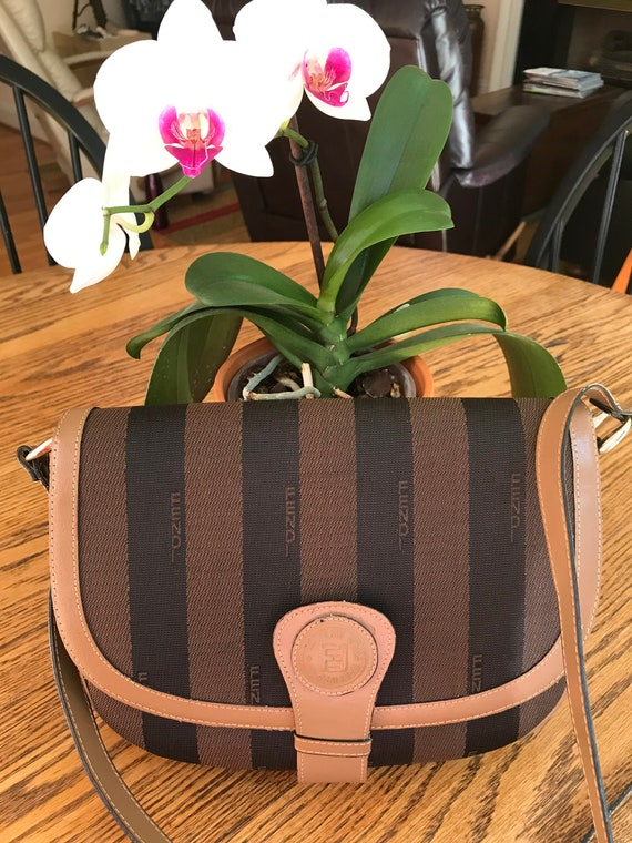 Vintage 1970's FENDI Crossbody Bag