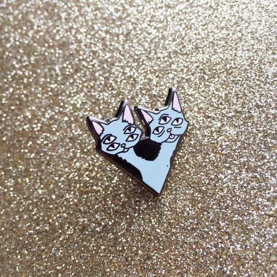 Alien Cat Hard Enamel Pin