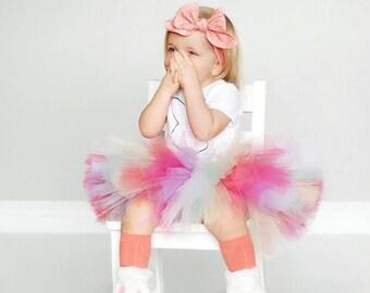 Pretty Petals tutu || Short & Sweet Style || birthday tutu || dance tutu || spring tutu || toddler tutu || nb-3T