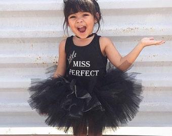 Little Black tutu || Short & Sweet style || baby tutu || birthday tutu || dance tutu || newborn tutu || cake smash || toddler tutu