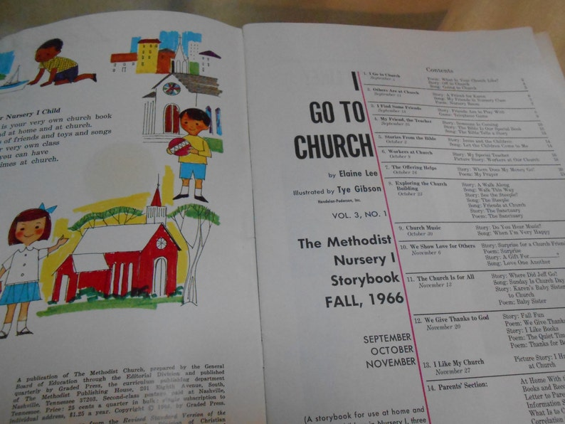 Sunday School Book and Take-Home