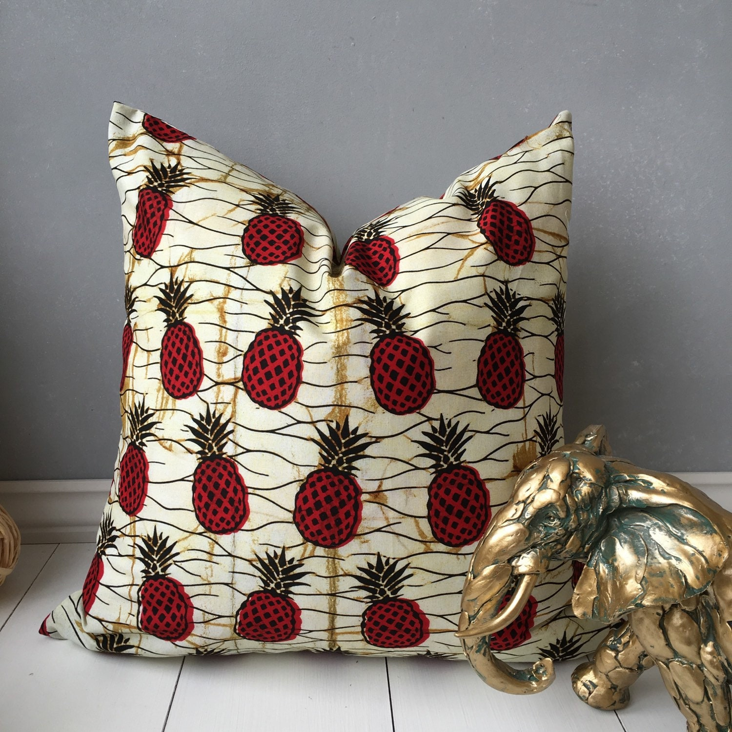 african pillow cover 20 x 20 pillow home decor etsy. Black Bedroom Furniture Sets. Home Design Ideas