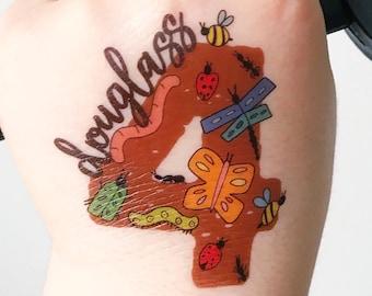 Love & Lion Custom Temporary Tattoos Apparel by LoveAndLion