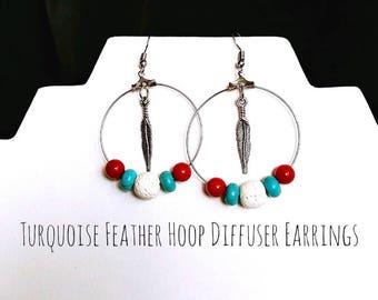 Hoop Diffuser Earrings
