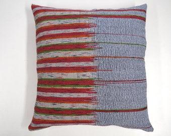 Woven pillow, Cushion Cover, Pillow Case