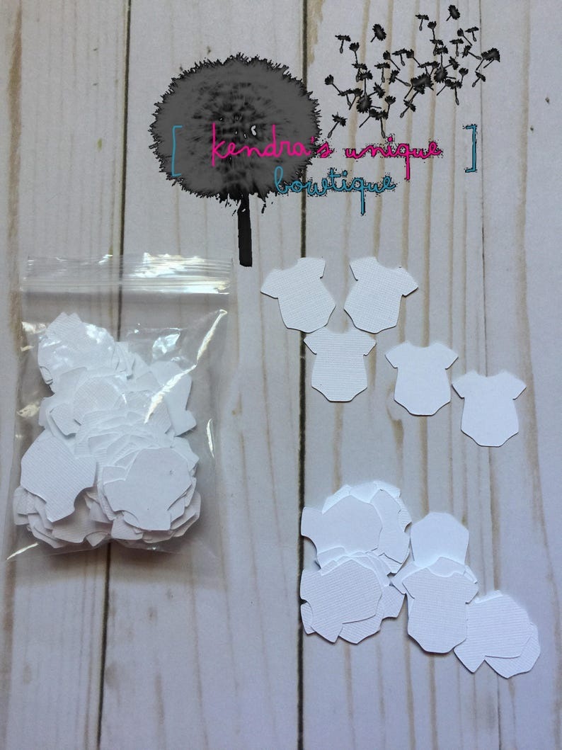 tiny onesie cut outs cardstock cut outs cut outs for scrapbooking baby shower favors scrapbooking mini onesie cut outs Onesie cut outs