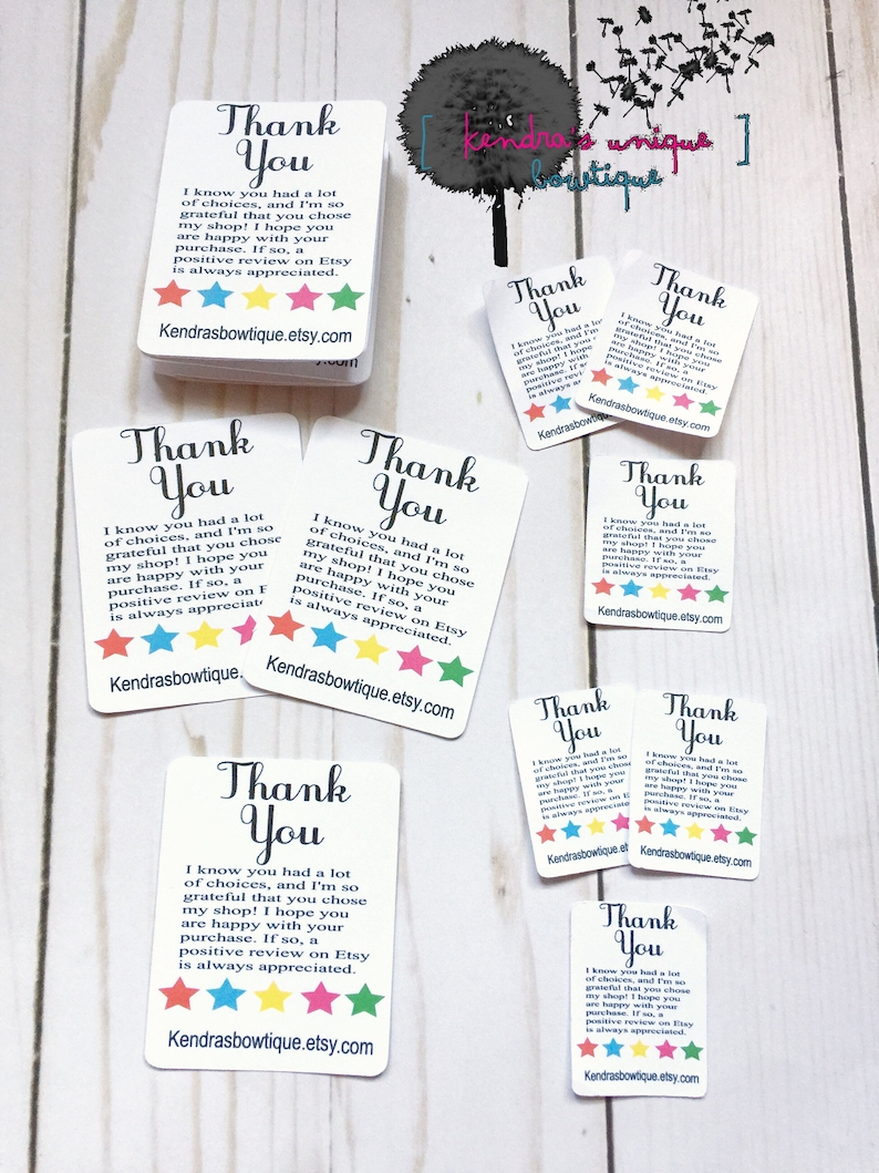 77957418582fc Thank you follow me cards, tiny thank you cards, thank you cards, leave  feedback cards, etsy thank you cards, etsy cards, leave feedback