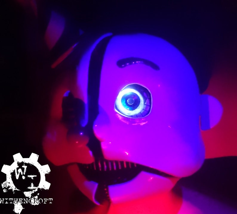 Ennard from Five Nights at Freddy's Inspired Mask  Screen accurate, full  lining, hidden switch & LEDs  Very Comfortable, Custom Sizes
