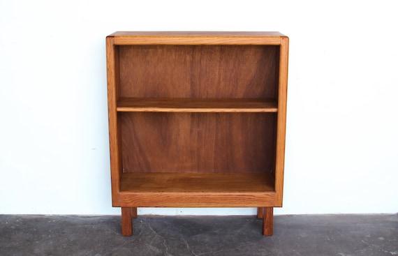 SOLD Vintage Oak Wood Bookshelf Bookcase Bar Cabinet