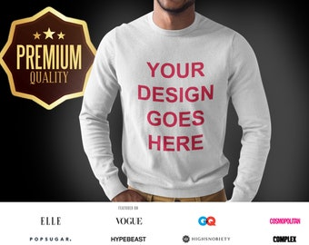 c605a69d9b80 Custom Gildan 2400 Ultra Cotton Long Sleeve Tee, Mens long sleeves Custom  Shirt, Personalized T-shirts, Customized Apparel