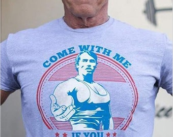 """New Mens /""""Stay Hungry/"""" Arnold Shwarzenegger Gym Motive T-Shirt Top Tee Small-3XL"""