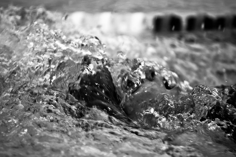 Backstroke Abstract  Photography   8x12 image 0