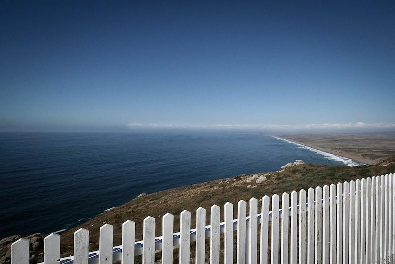 Landscape Photography  Point Reyes White Picket Fence image 0