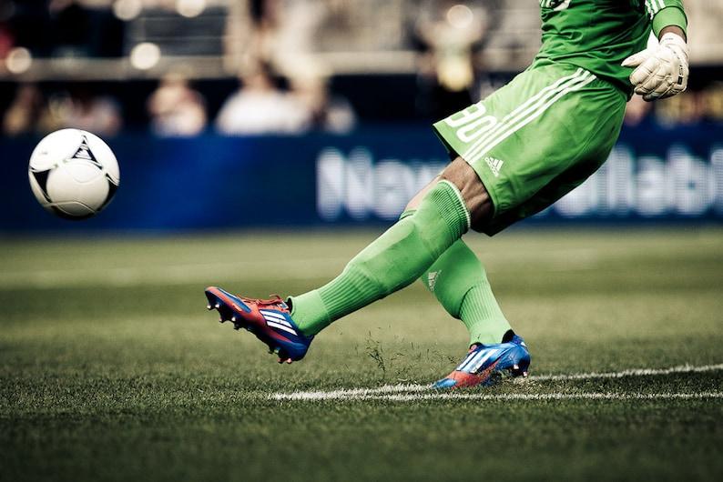 Soccer Kick  Photography   8x12 image 0