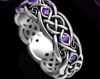 Sterling Celtic Rings