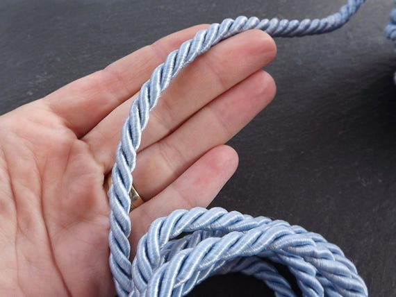 3mm X 25yd Gold and White Royal Twisted Cord