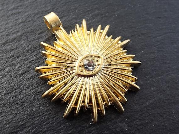 All-Seeing-Eye of Providence Masonic Freemasonry Pewter Brooch