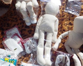 SALE! Wire Doll Bodies w/ Accessories