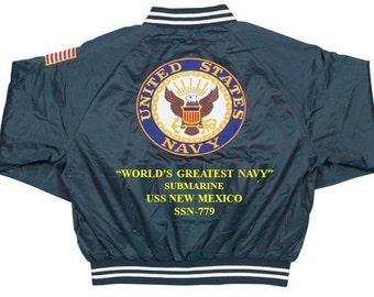 Military USS CALIFORNIA SSN-781 Ship Polo Shirt