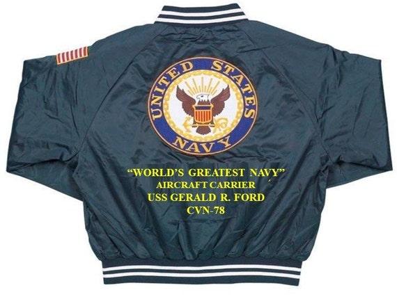 USS ABRAHAM LINCOLN  CVN-72* AIRCRAFT CARRIER NAVY ANCHOR EMBLEM SWEATSHIRT
