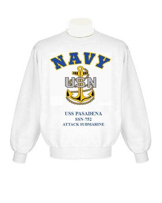 US Navy USS Pasadena SSN-752 Submarine T-Shirt