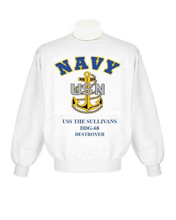 US USN Navy USS The Sullivans DDG-68 Destroyer T-Shirt
