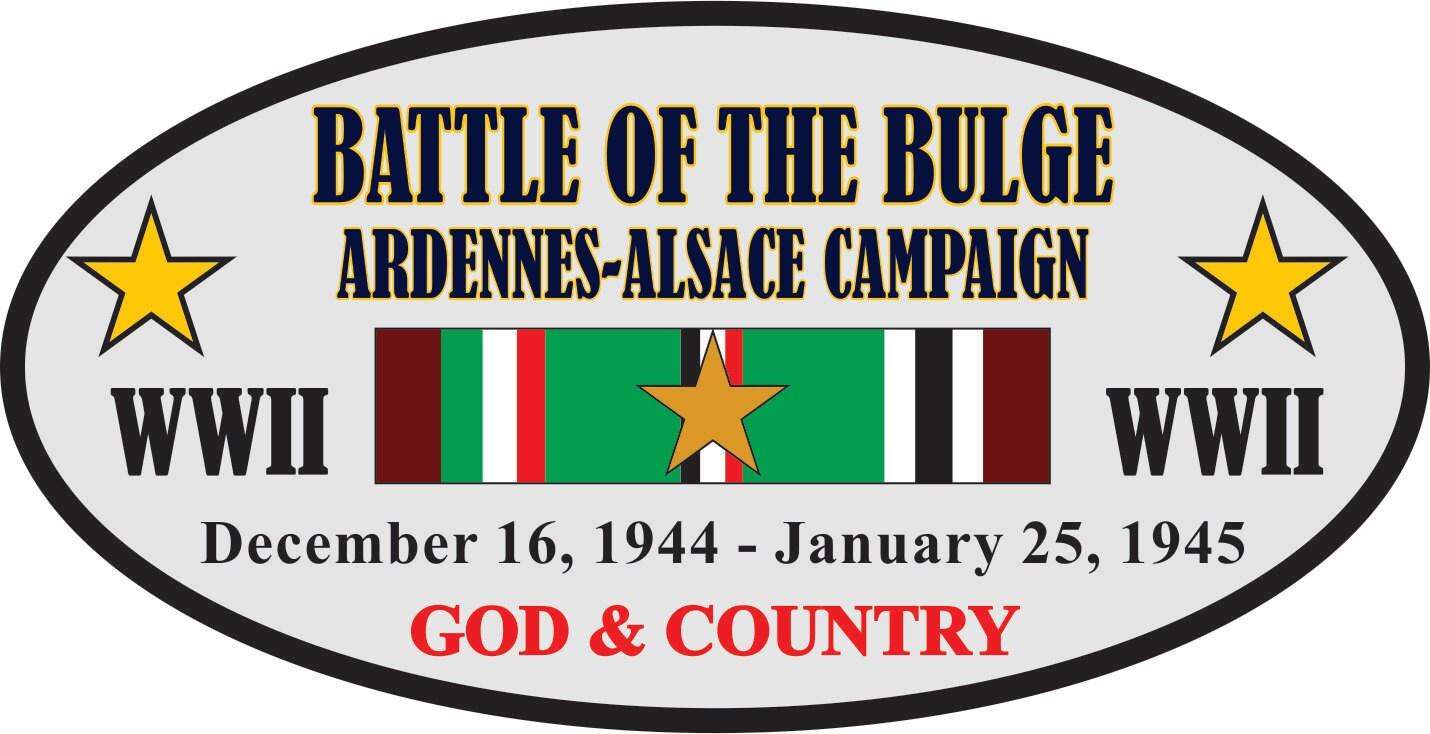 THE BATTLE OF THE BULGE*ARDENNES-ALSACE CAMPAIGN UNIT WW II// SWEATSHIRT
