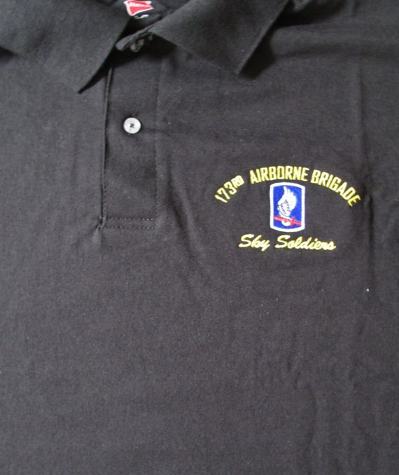 Army 8th Infantry Division Patch Mens Regular-Fit Cotton Polo Shirt Short Sleeve