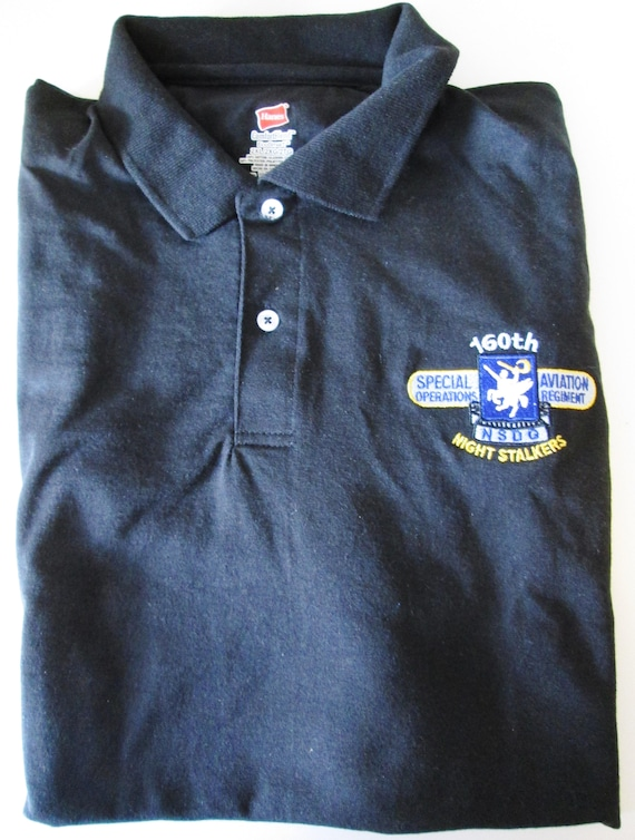 160th NIGHT STALKERS SOAR Death waits In The Dark T-Shirt Ultra Cotton Large