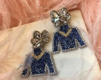 Derby Jewelry - Derby Jockey Earrings