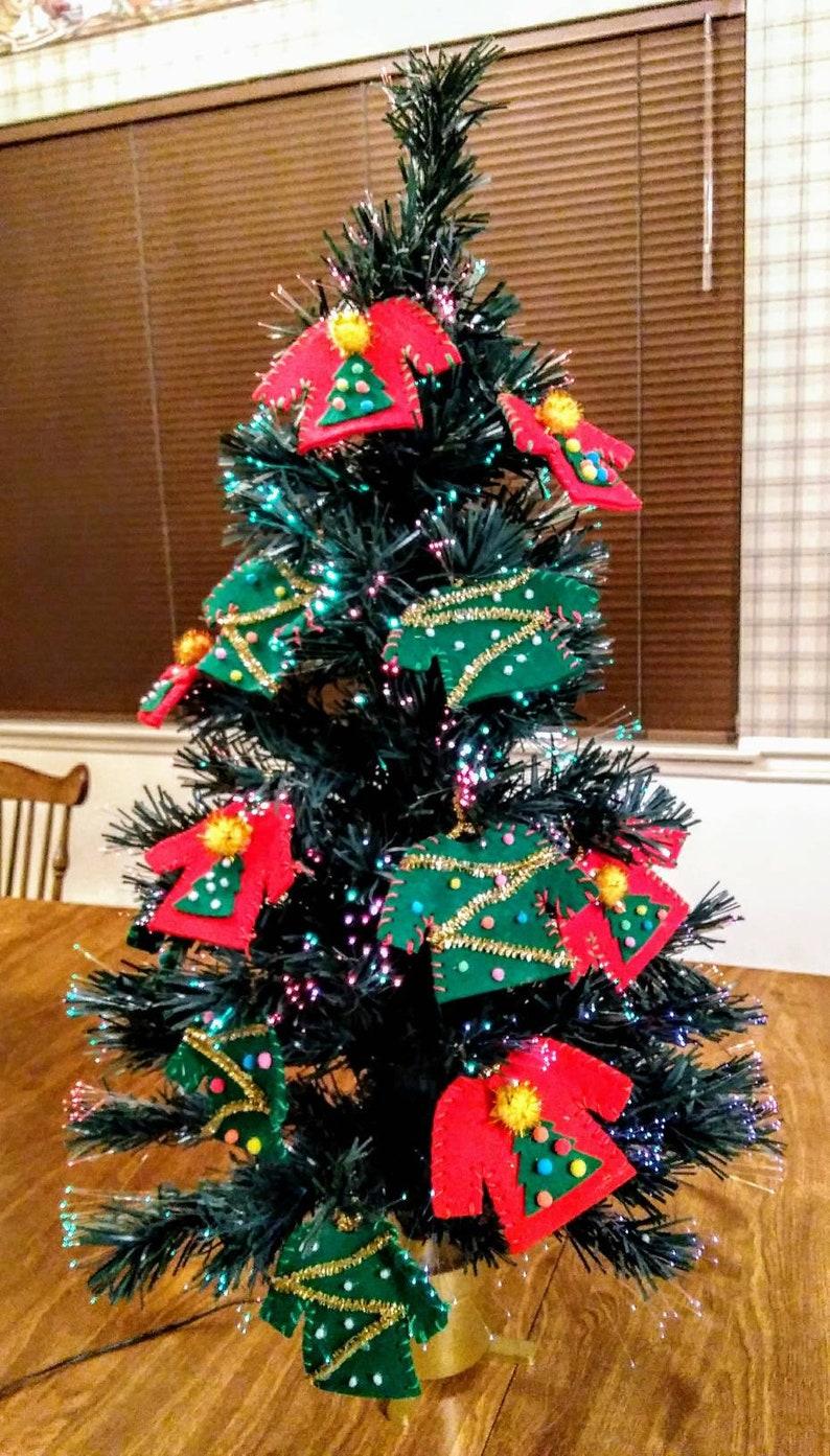 Christmas Ornament Christmas Decor Xmas Tree Decorations Ugly Sweater Ornament Ugly Sweater Christmas Ornament