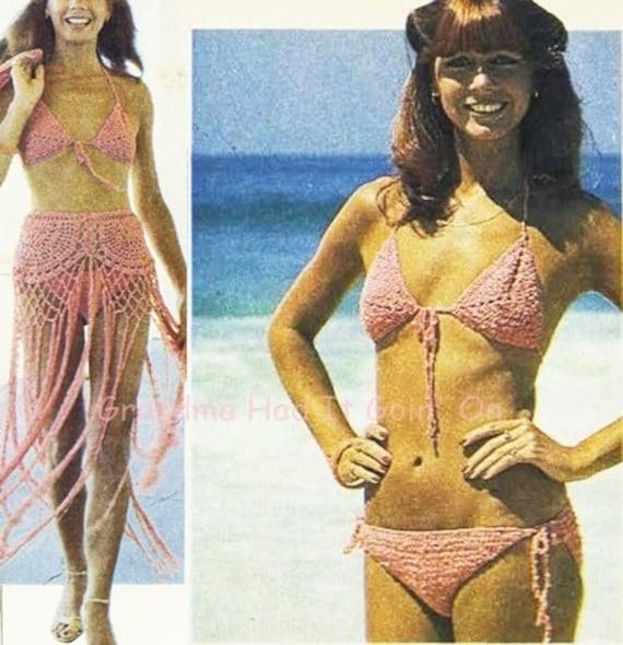 Vintage Crochet Bikini