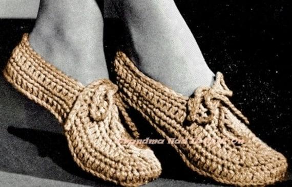 Crochet Pattern House Slip On Slippers Crochet Bow Tie Pattern Etsy